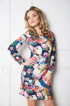 Платье с набивными цветами Open-Style