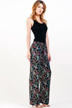Свободные брюки с поясом Sheldi со скидкой